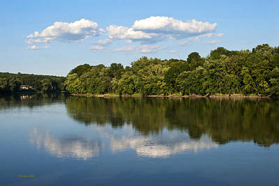 Susquehanna River Print by Christina Rollo