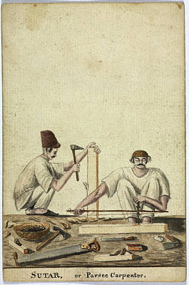 Sutar Print by British Library