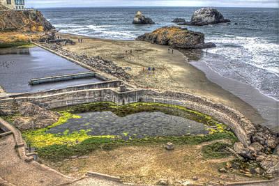 San Francisco Photograph - Sutro Baths 3 by SC Heffner