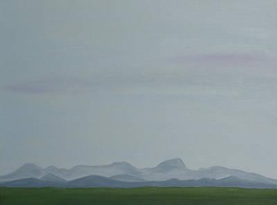 Sutter Buttes Original by Jan Roelofs