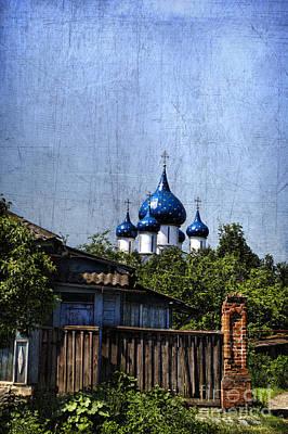 Wooden Houses Photograph - Suzdal Kremlin by Elena Nosyreva