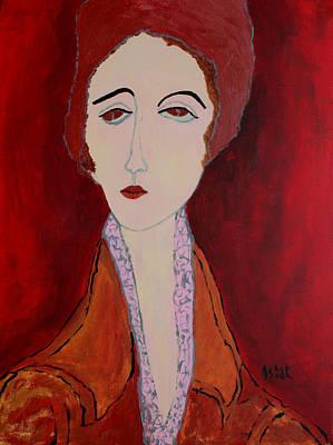 Painting - Svetlana by Oscar Penalber