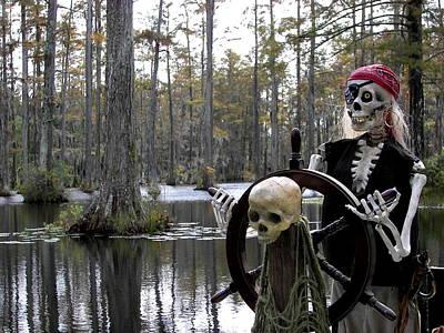 Swamp Pirate Print by Karen Wiles