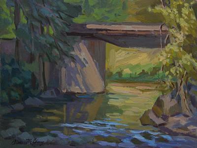 Swauk Creek Early Spring Original by Diane McClary