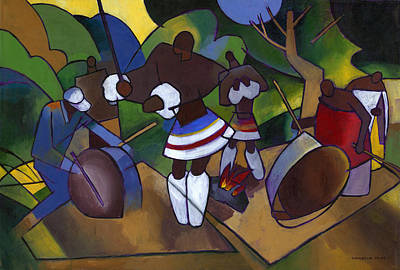Swazi Rhythm Original by Douglas Simonson
