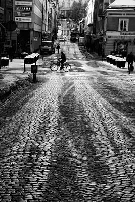 Classic Cycle Photograph - Sweden Uppsala by Stelios Kleanthous