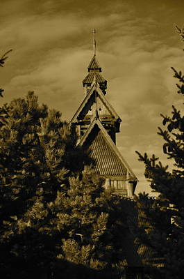 Photograph - Swedish Church  by Cherie Haines