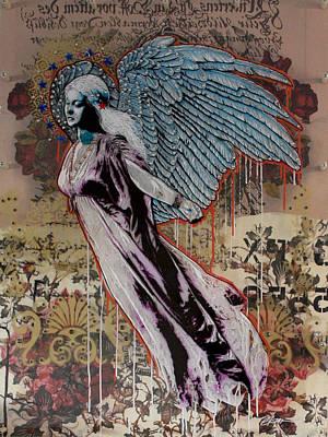 Sweet Angel Print by Gary Kroman