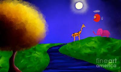 Artrage Painting - Sweet Dreams by Anita Lewis