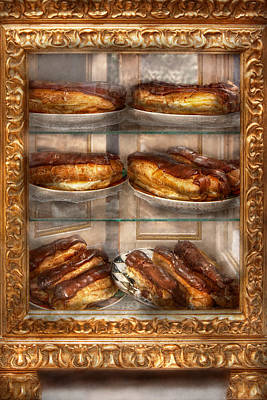 Fashion For Sale Photograph - Sweet - Eclair - Chocolate Eclairs by Mike Savad