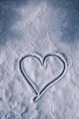 Icing Sugar Photograph - Sweet Heart by Joana Kruse