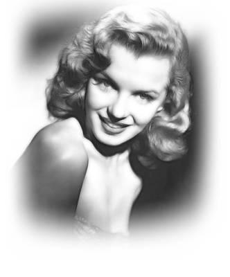 Marilyn Monroe Drawing - Sweet Marilyn by Stefan Kuhn