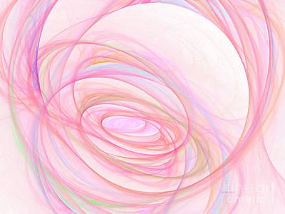 Sweet Pink  Print by Tatjana Popovska