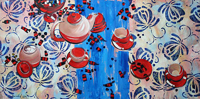 Candy Painting - Sweet -stuff by Anastasija Kraineva