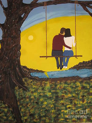 Swing Painting - Sweet Whispers by Jeffrey Koss