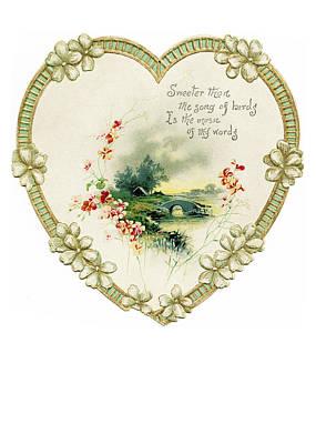 Christmas Cards Digital Art - Sweeter Than The Song by Munir Alawi