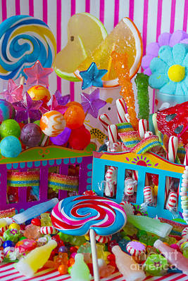 Licorice Digital Art - Sweets 3 by Aimee Stewart