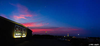 Sweetwater Texas Sunrise Print by Chris Martin