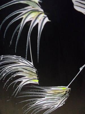 Swept Print by Karen Lillard