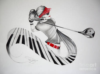 Swing Painting - Swing With Rhythm by Jalal Gilani