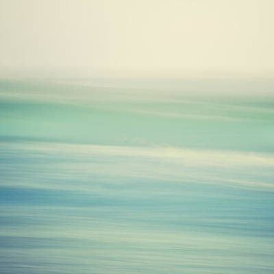 Abstract Beach Landscape Photograph - Swish by Irene Suchocki