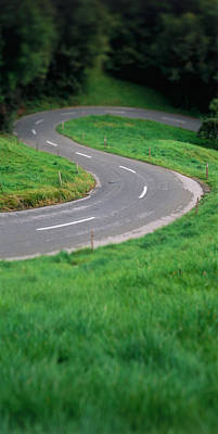 Curving Road Photograph - Switzerland, Road by Panoramic Images