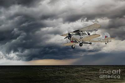Bi Plane Digital Art - Swordfish  by J Biggadike