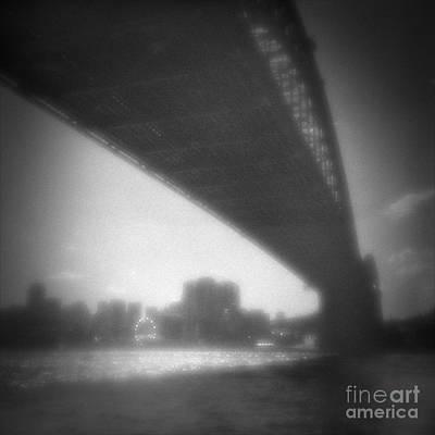 Luna Park Photograph - Sydney Harbour Bridge And North Sydney by Colin and Linda McKie