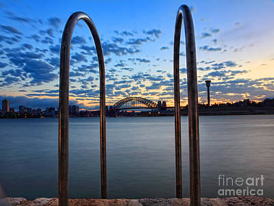 Sydney Harbour Bridge Print by Leah-Anne Thompson