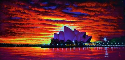 Sydney Opera House 2 Original by Thomas Kolendra