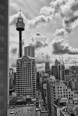 Sydney Skyline Photograph - Sydney Skyline by Douglas Barnard