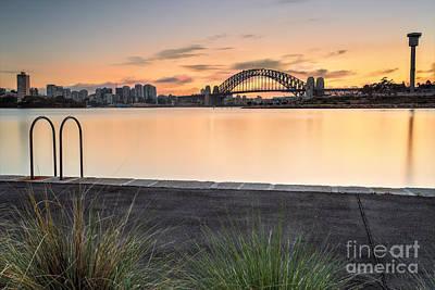 Sydney Views From Balmain Print by Leah-Anne Thompson