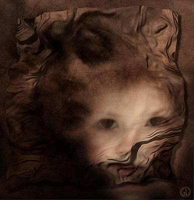 Women Together Digital Art - Symbios by Gun Legler