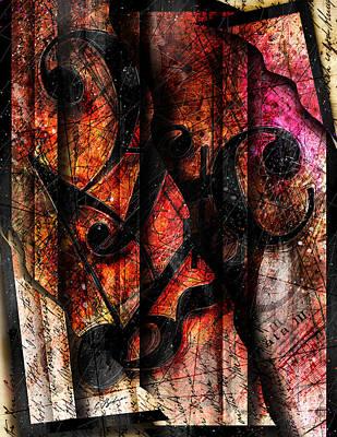Symblz Print by Gary Bodnar