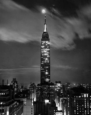Empire State Photograph - New York City by Retro Images Archive