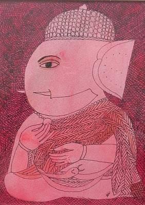 Gallerie Ak Painting - T Bn3 by Badri Narayan