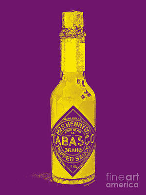 Tabasco Sauce 20130402grd Print by Wingsdomain Art and Photography