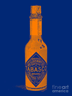Tabasco Sauce 20130402grd2 Print by Wingsdomain Art and Photography