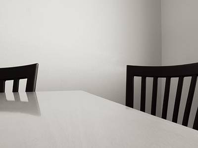 Table And Chairs Photograph - Table And Chairs by Don Spenner