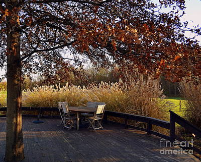 Indiana Photograph - Table For Four by Amy Lucid