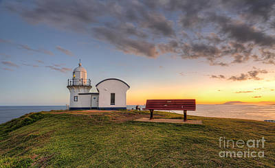 Tacking Point Lighthouse Port Macquarie Print by Leah-Anne Thompson