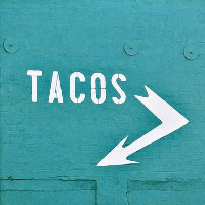 Ethnic Art Photograph - Tacos by Art Block Collections