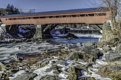 Taftsville Photograph - Taftsville Vermont Covered Bridge View 2 by John Supan
