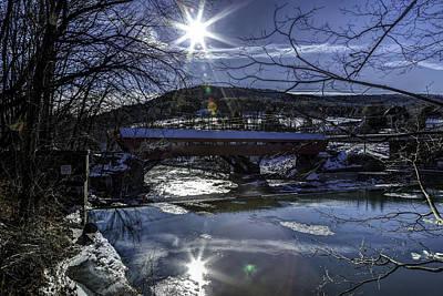 Taftsville Photograph - Taftsville Vermont Covered Bridge View 3 by John Supan