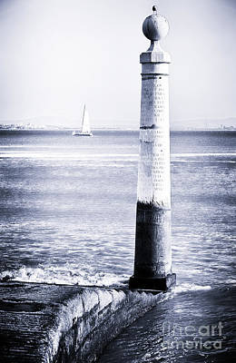 Black Commerce Photograph - Tagus River View by John Rizzuto