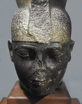 Statue Portrait Photograph - Taharka Or Tirhakah. 690 - 664 Bc by Everett