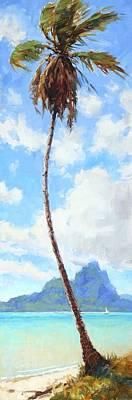 Painting - Tahiti Palm by Jenifer Prince