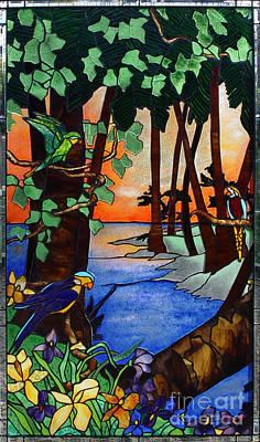 Tahiti Window Print by Peter Piatt