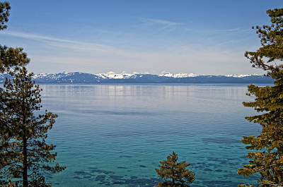Snow Photograph - Tahoe Paradise by Donna Doherty