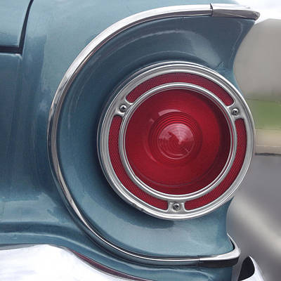 Falcon Photograph - Tail Light Ford Falcon 1961 by Don Spenner